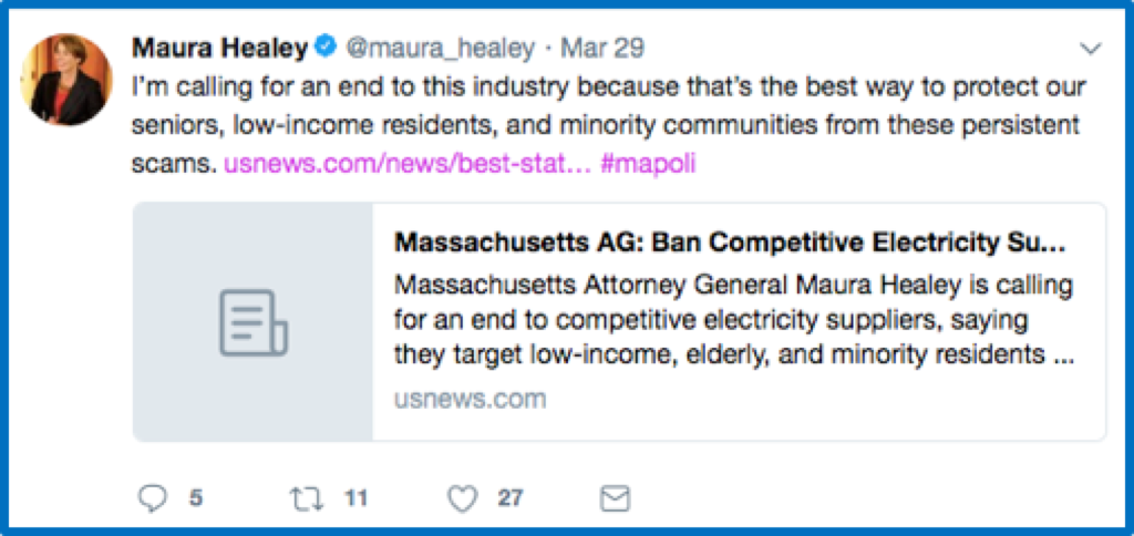 Competitive energy markets: What went wrong in Mass , and